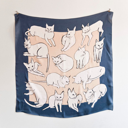 leahgoren - Cats Scarf