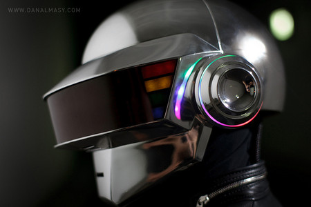 Harris Krix of Volpin Props - Daft Punk Helmet Replica (Thomas Bangalter Version)