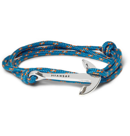 MIANSAI - Miansai Utility Rope and Anchor Bracelet