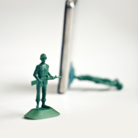 iPhone Soldier Stand