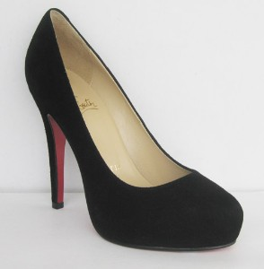 Christian Louboutin - leather ROLANDO Black suede