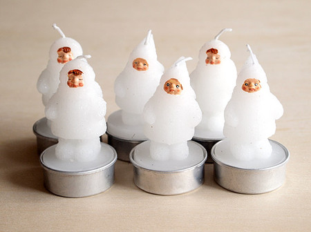 &K Amsterdam - Snow Doll T-Lite Candle