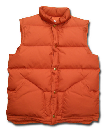 "HEADGOONIE - ""MARTY"" Down Vest (PERFECT REPLICA)"