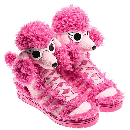 adidas originals - Pink Poodle sneaker by  Jeremy Scott