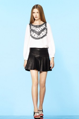 Thakoon - Stretch Leather Tulip Skirt
