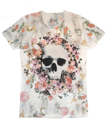 maxsix - REQUIEM IN PARADISE T-SHIRT/WHITE
