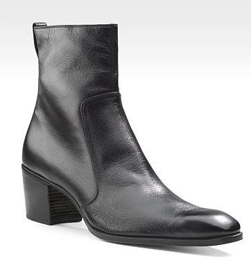 Yves Saint Laurent - Leather Johnny Boots