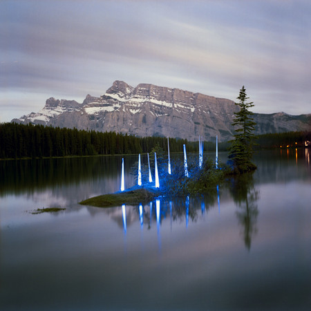 Barry Underwood  - Landscape Light Sculptures