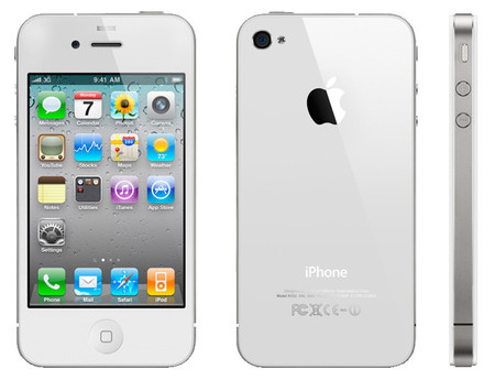 Apple - iPhone 4S (White)