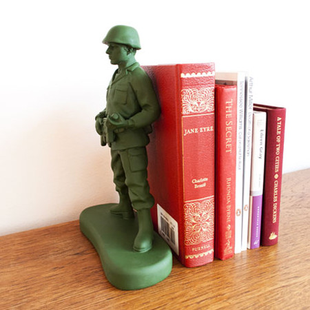 SUCK UK - soldier bookend by Homeless and Jon Piper