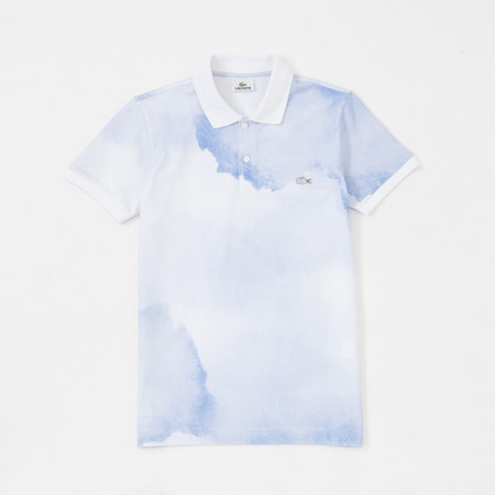 LACOSTE - polo shirt Aquarelle