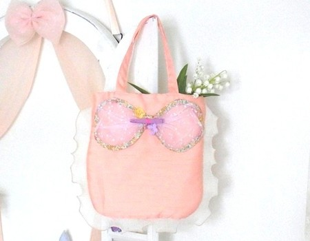 Joe & Ruban - flower ribbon bag
