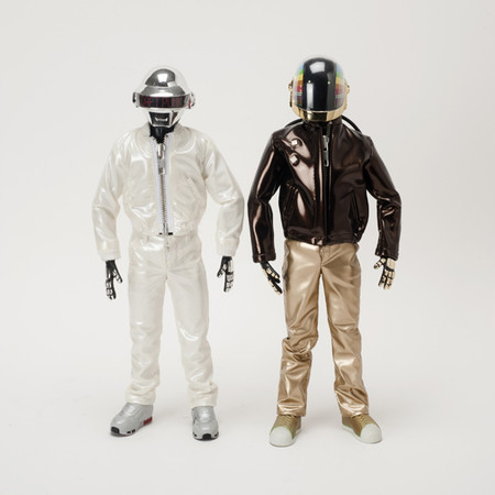 "MEDICOM TOY - REAL ACTION HEROES ""DAFT PUNK"""