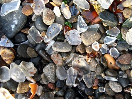 aba'ca - Glass Beach at Fort Bragg