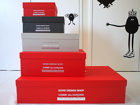 GOOD DESIGN SHOP COMME des GARCONS x D&DEPARTMENT PROJECT - SHOES CASE