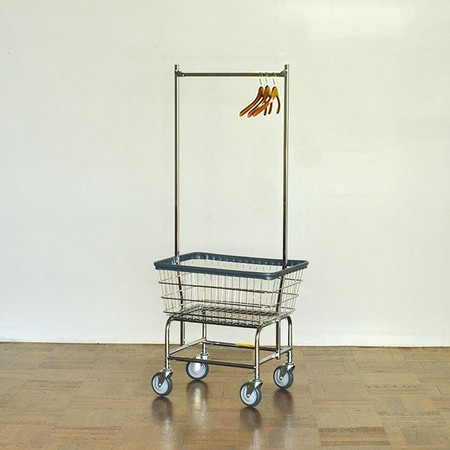 PACIFIC FURNITURE SERVICE - LAUNDRY CART DOUBLE POLE