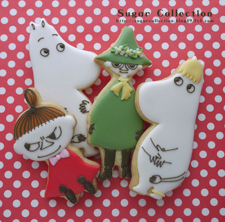 JILL's Sugar Collection's photostream - moomin cookies