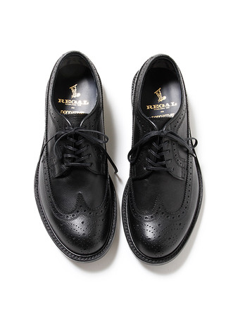 nonnative, REGAL - DWELLER SHOE WING TIP - COW LEATHER WITH GORE-TEX® 2L by REGAL