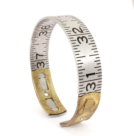 jacqvon - Vintage Lufkin Ruler Bangle