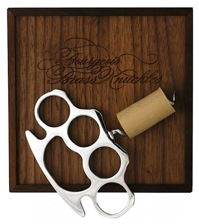 Bourgeois - Brass Knuckle Cork Screw