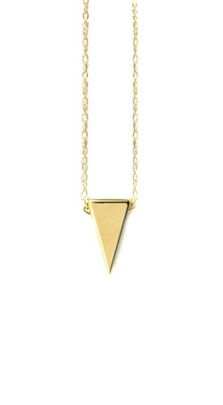 Albeit - Triangle Pendant Necklace
