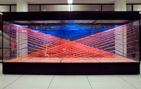 Megan Geckler - Flagging tape installation