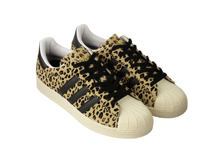 adidas - superstar-leopard