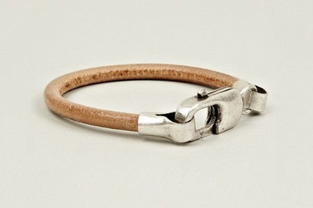 Maison Martin Margiela - 2012 Pre-Fall Brass and Leather Bracelet