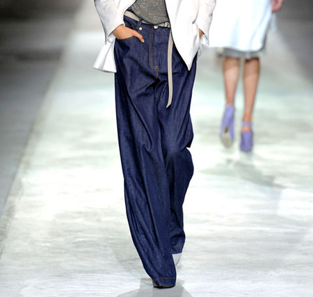 DRIES VAN NOTEN - Denim Trouser