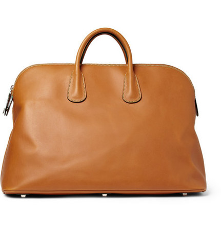 Valextra - Leather Tote Bag