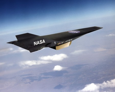 Nasa - X-43A (Second Fastest plane in the world)