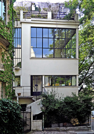 Le Corbusier - Villa Ozenfant, Paris, 14th district, near Parc Montsouris