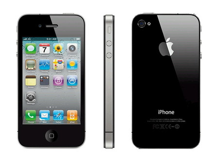 Apple - iPhone 4 32GB (Black)
