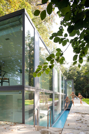 Govaert & Vanhoutte Architects - Villa Roces, Private House, Bruges, Belgium