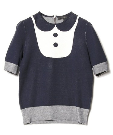 MARC BY MARC JACOBS - DITA SWEATER SHORT SLEAVE CREW