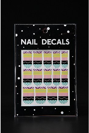 urban outfitters - nail decals