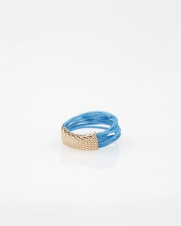By Boe - Accordion Ring In Blue