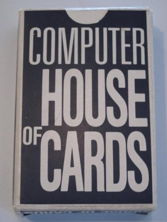 EAMES - Giant COMPUTER HOUSE of CARDS