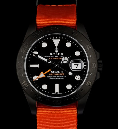 ROLEX - PROHUNTER Military Stealth Explorer