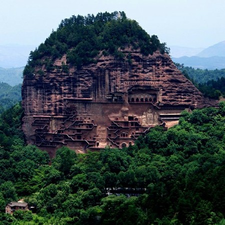 China - Maijishan Grottoes