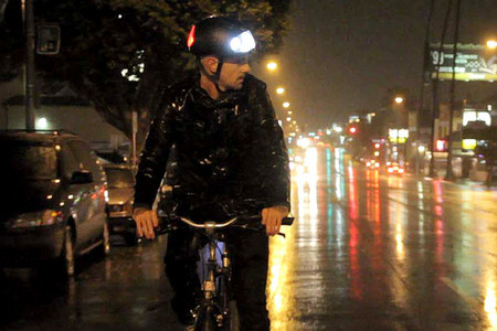 Torch Apparel - LED bicycle helmet