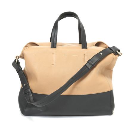 CELINE - Leather 2Way Tote Bag