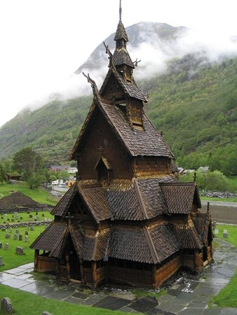 Norway - Borgund Stave Church