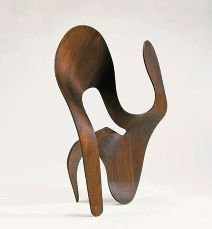 Ray Eames - A FINE AND RARE MOLDED PLYWOOD SCULPTURE