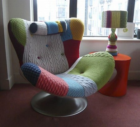 Natuzzi - Iconic Music Chair re-invented by Melanie Porter
