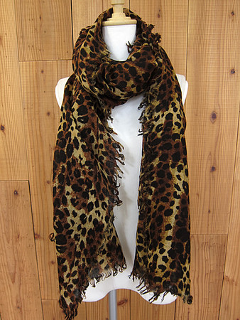 UNSQUEAKY - 2012AW  別注LEOPARD STOLE