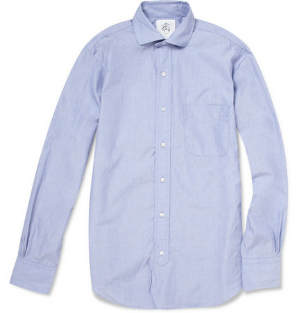 Black Fleece by Thom Browne - Blue Classic Cotton Shirt