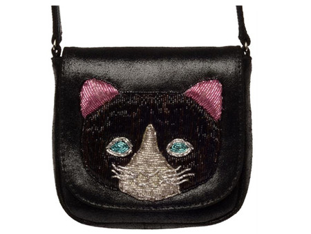 Sophia 203 - cat shoulder bag