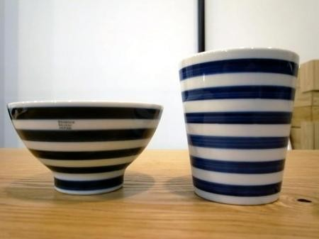 essence / Hasami made - rice bow&cup