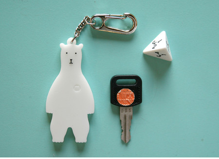 MILLIMETER MILLIGRAM - KEY HOLDER BEAR